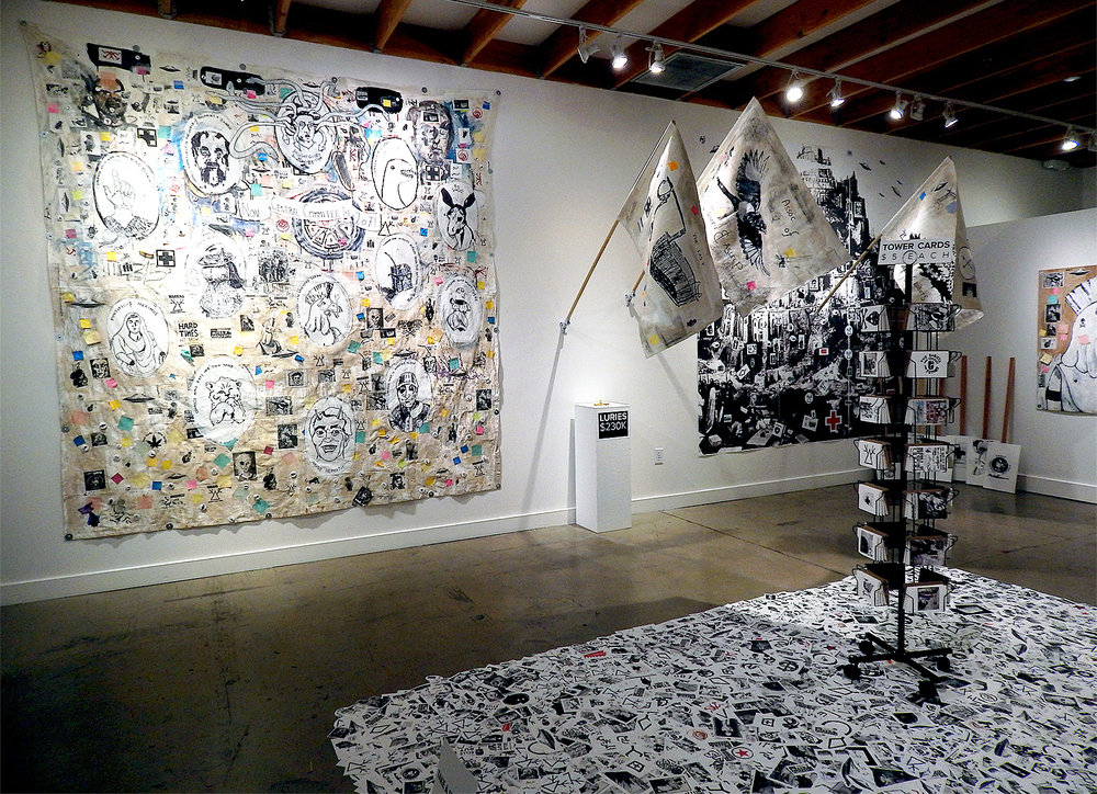 Installation view at the Cube Gallery (Las Vegas 2018) (Adam Turl)