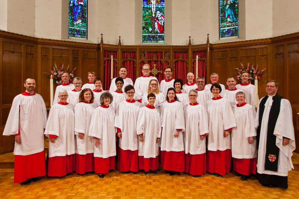 May 2016   The Cathedral Choir on May 15, 2016. Photo: Dallas Southcott.