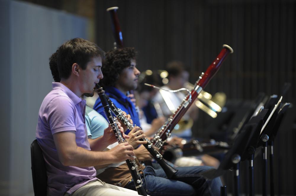 Orquestra XXI em ensaio na Casa da Música (c) João Paulo Coutinho