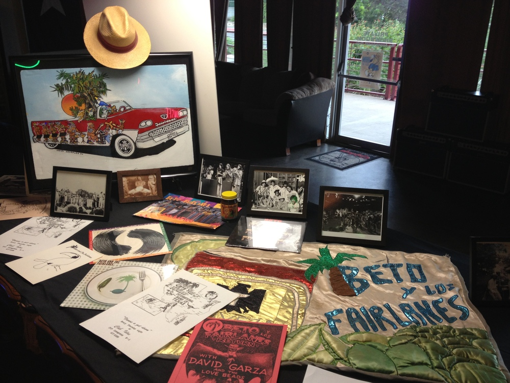 35 Years of Beto & the Fairlanes Memorabilia