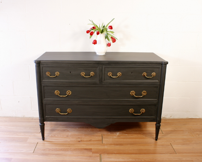 "Queenstown Gray Dresser ""after"""