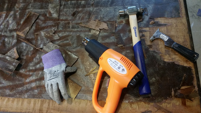 Tools to remove veneer