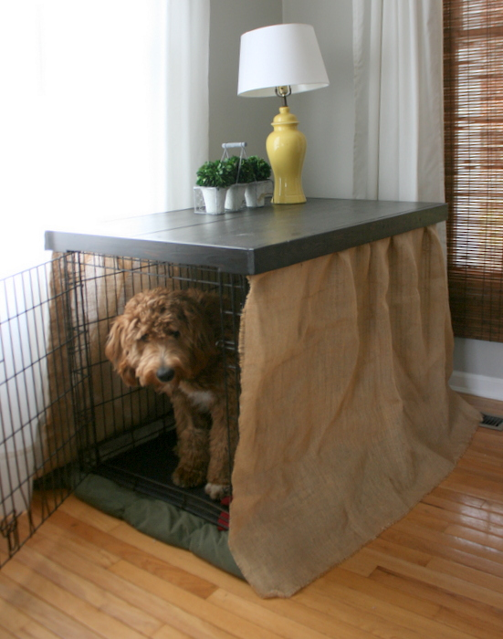 Diy Dog Kennel Table Top Roots Amp Wings Furniture Llc