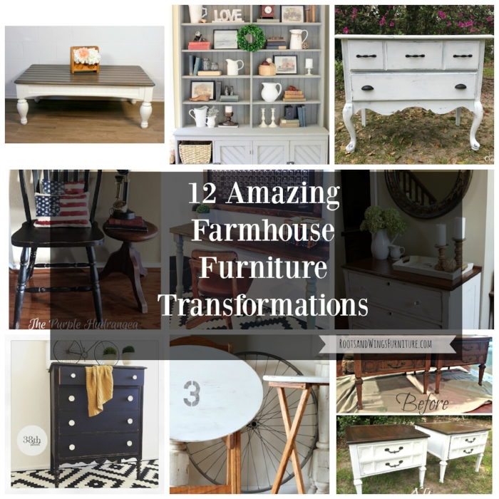 farmhouse furniture transformations