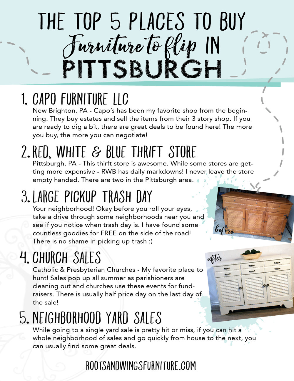 Top Places to Buy Furniture to Flip in Pittsburgh - Grab your downloadable copy here.
