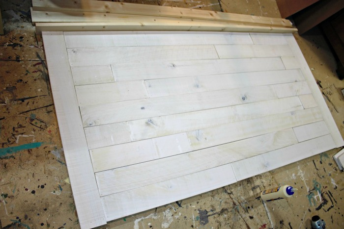 How To Make A Shiplap Headboard Roots Wings Furniture LLC