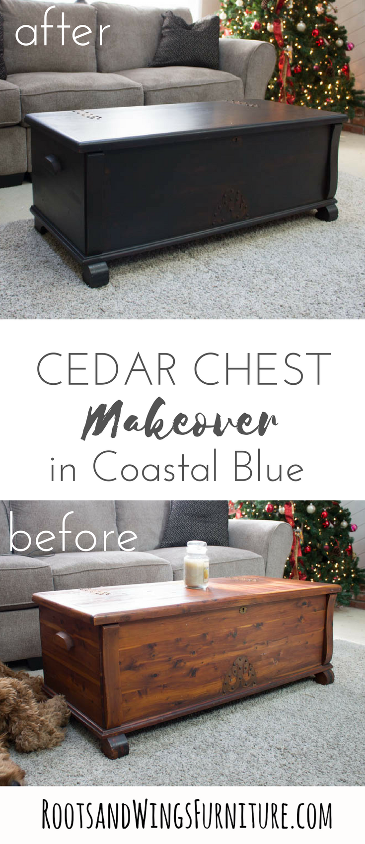 makeover furniture. Http://www.rootsandwingsfurniture.com/blog/cedarchest Makeover Furniture I