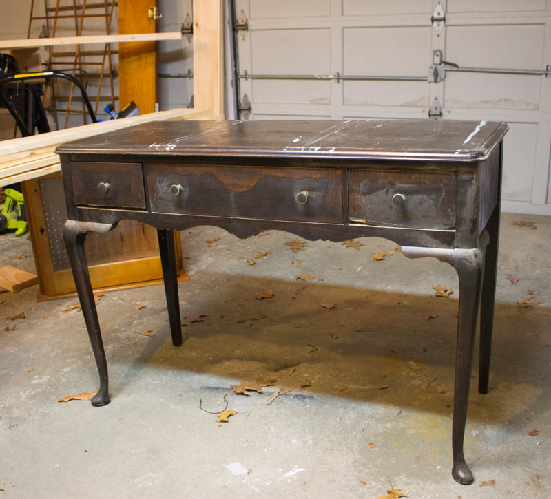 - Antique White Writing Desk Makeover — Roots & Wings Furniture LLC