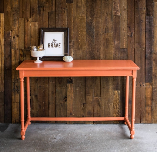 Persimmon Console table