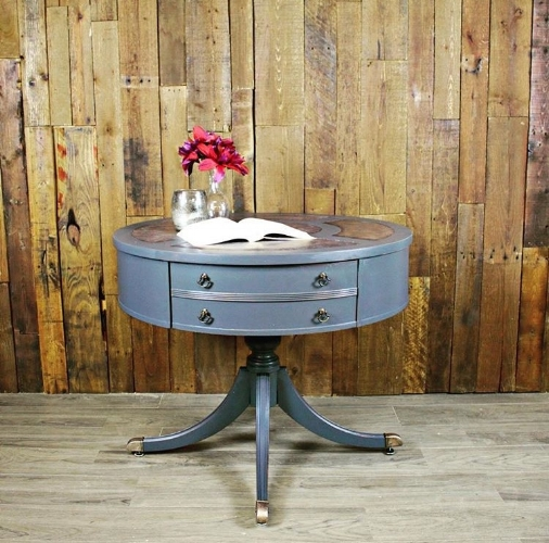 Queenstown Gray Game Table