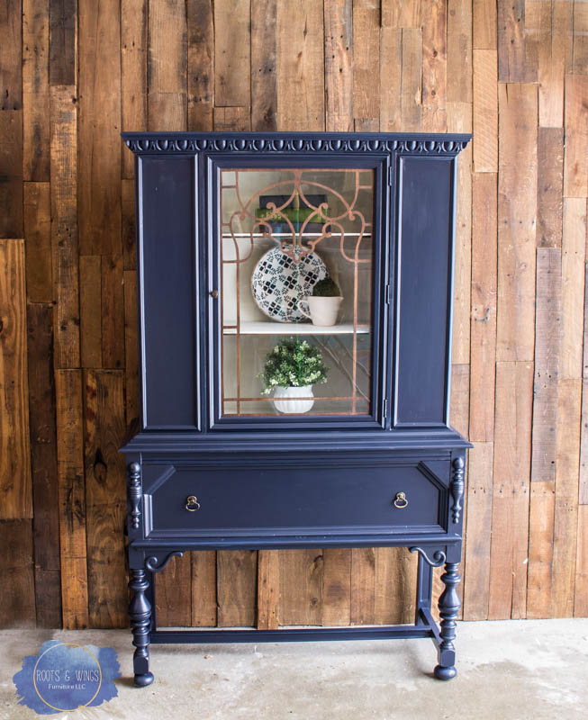 coastal blue hutch makeover roots and wings furniture -6.jpg
