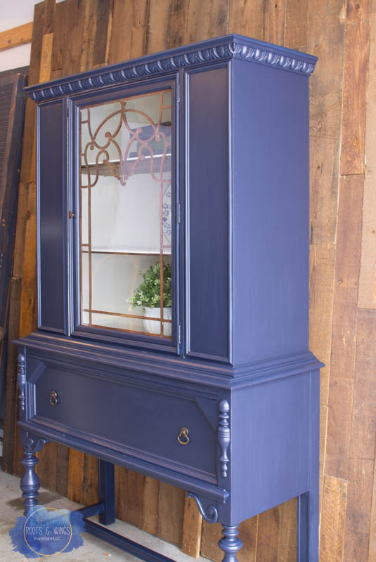 coastal blue hutch makeover roots and wings furniture -2.jpg