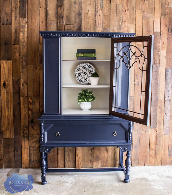 coastal blue hutch makeover roots and wings furniture -5.jpg