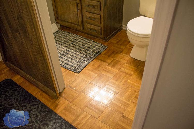 Moroccan Wood Floor Tiles Painting hardwood floor to look like moroccan tile roots wings httprootsandwingsfurnitureblogpaintedfloor sisterspd