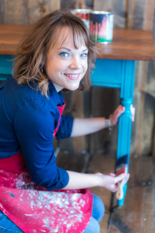 Get a FREE copy of my eBook - Furniture Painting 101