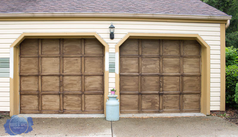 faux finish garage door roots and wings furniture -3.jpg