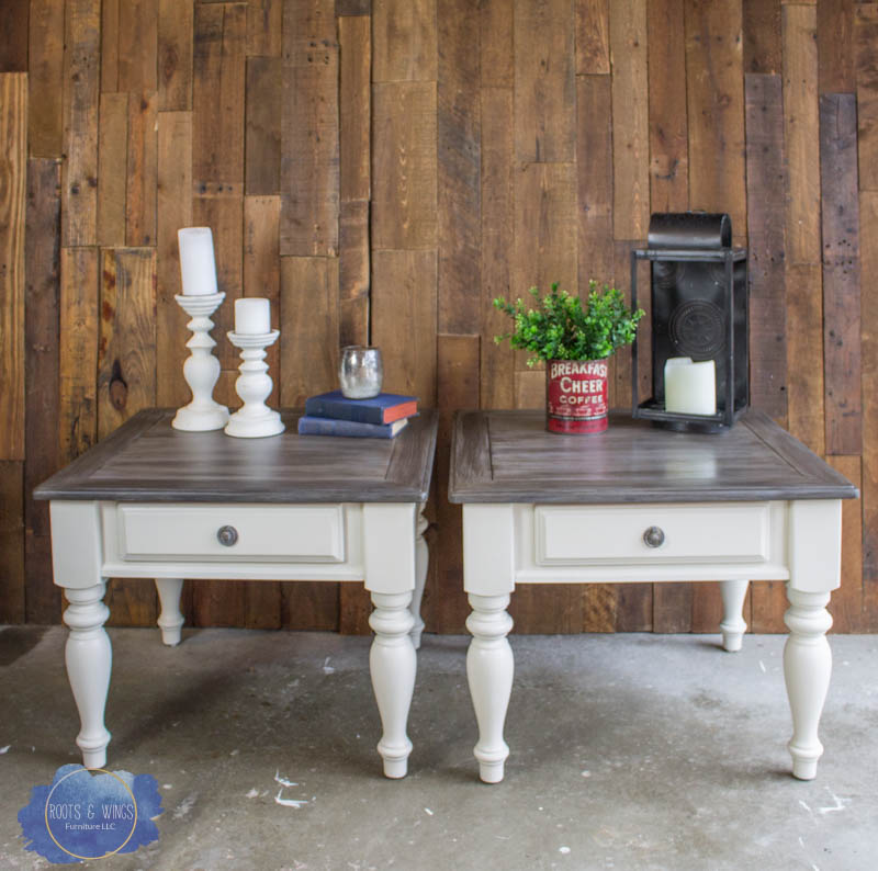 pair of barn wood end tables roots and wings furniture -1.jpg