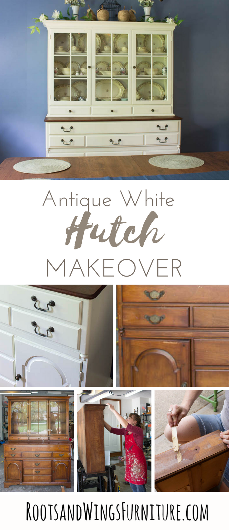 ANTIQUE WHITE HUTCH MAKEOVER by Roots and Wings Furniture 2.png