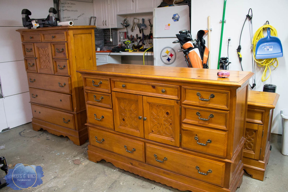 distressed black dresser roots and wings furniture (1 of 1).jpg