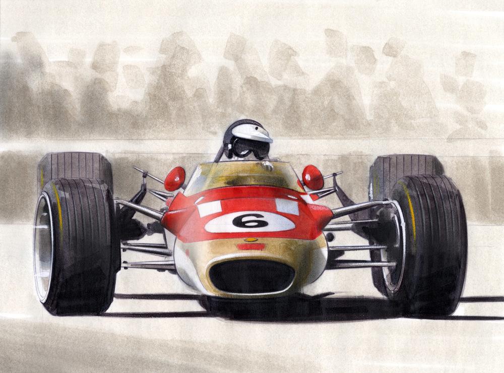 Jim Clark - 1968 Lotus 49T