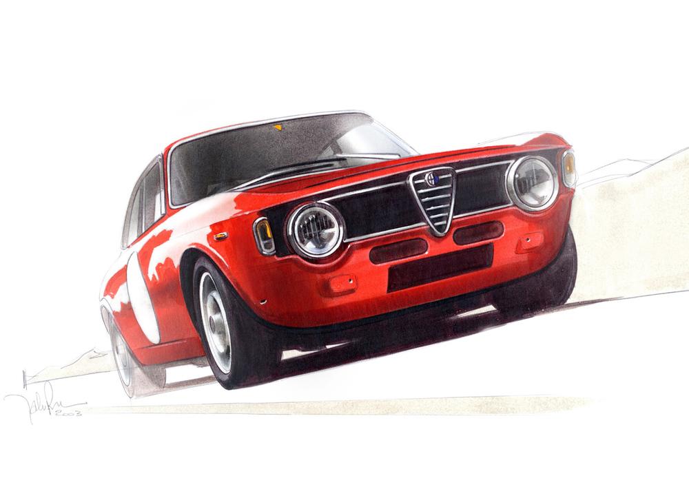 Alfa Romeo - 1967 Giulia Sprint GTA