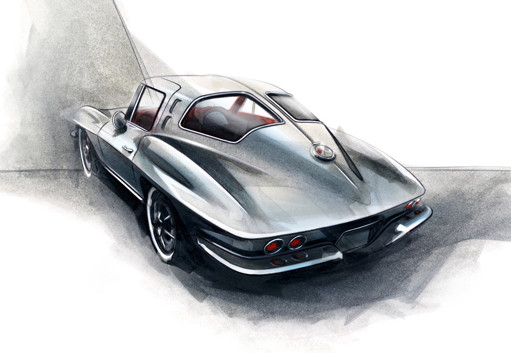 Chevrolet Corvette Stingray C2