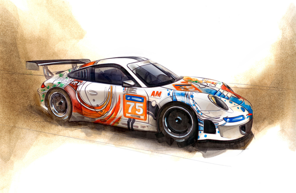 Porsche 911 GT3 RSR Prospeed Competition