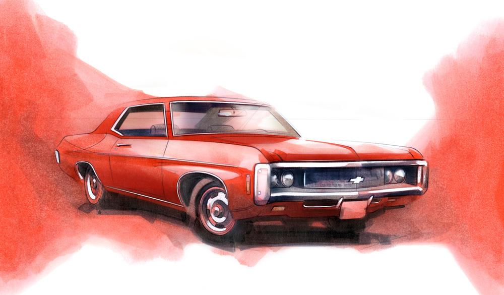 1965 Chevrolet Impala Sport Coupe