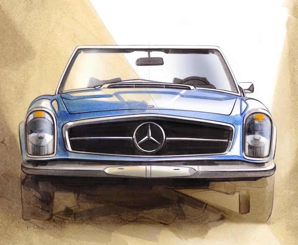 Mercedes-Benz SL Pagoda