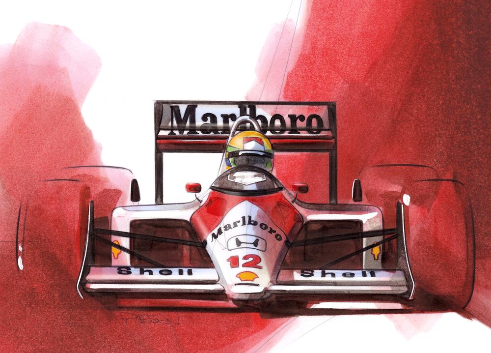 Ayrton Senna - 1988 McLaren MP 4/4