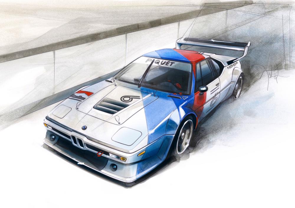 BMW M1 Procar 1979 - Nelson Piquet