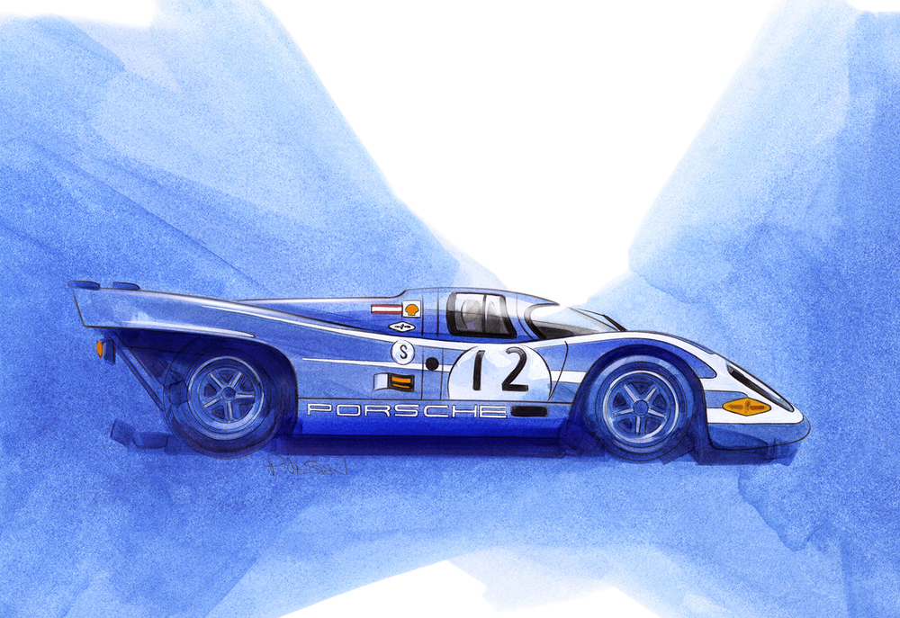 Porsche 917k Salzburg Racing Team (917 - 020)