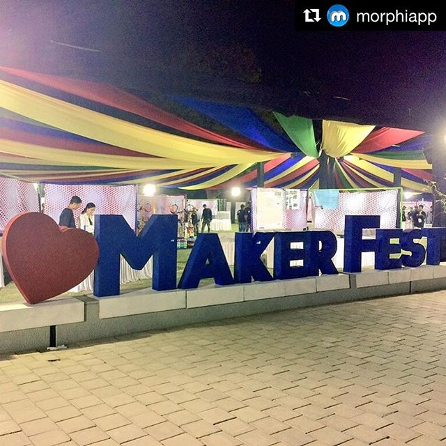#Repost @morphiapp . . .  @ladytechguild ❤ @makerfestmjff