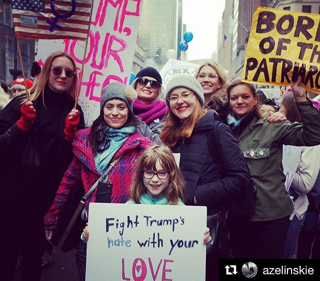#Repost @azelinskie ・・・ @ladytechguild sisters March!