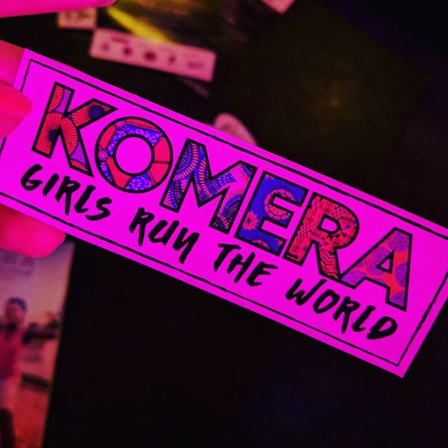 Friend of LTG @itslafitz DJing at Komera Girls Run the World Event  #komera #whoruntheworld