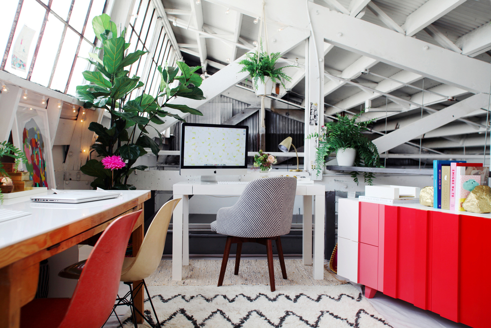 This is not my office, it's a stock photo, but isn't it beautiful?