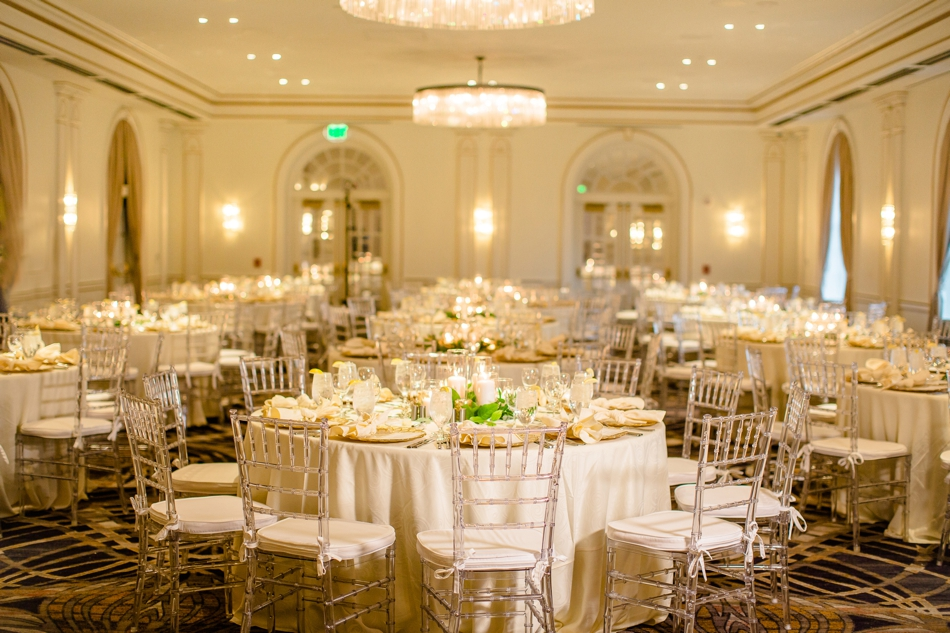 Gold & White Ballroom