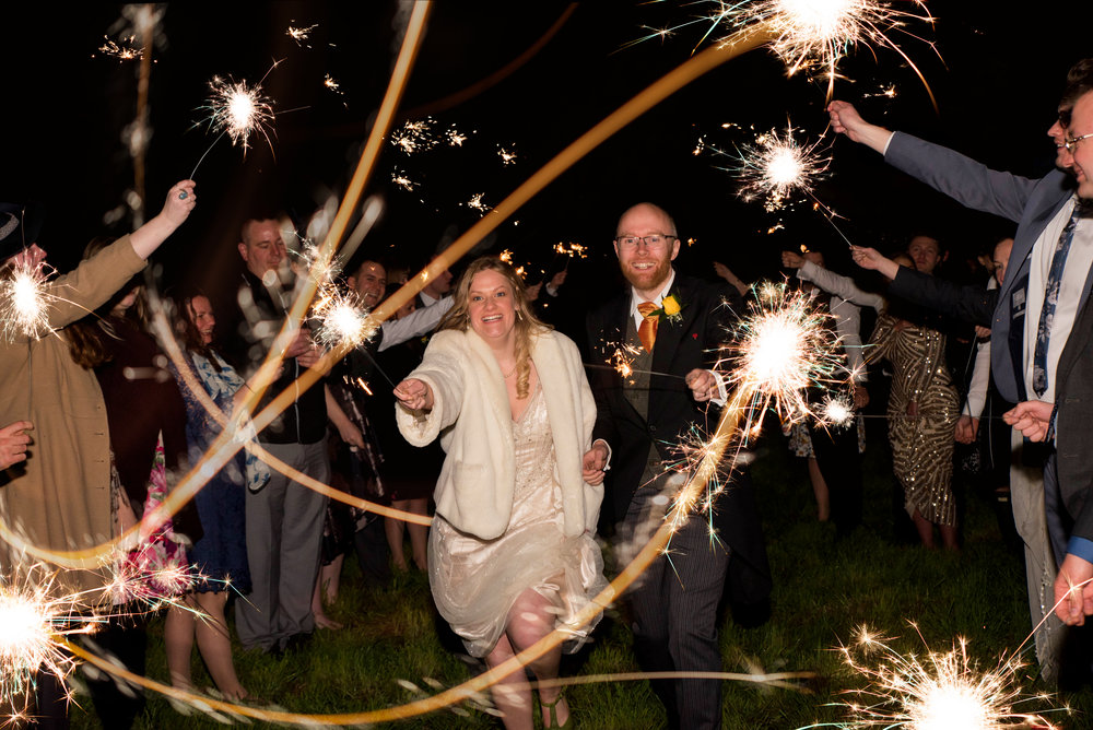 Exclusive Evening Shots: - Sparklers, glow sticks, sunsets, partying with the band…I offer extensive coverage, no disappearing as soon as your first dance has ended. Evening shots are a wonderful way to capture a spectacular finale to your wedding moments & memories.