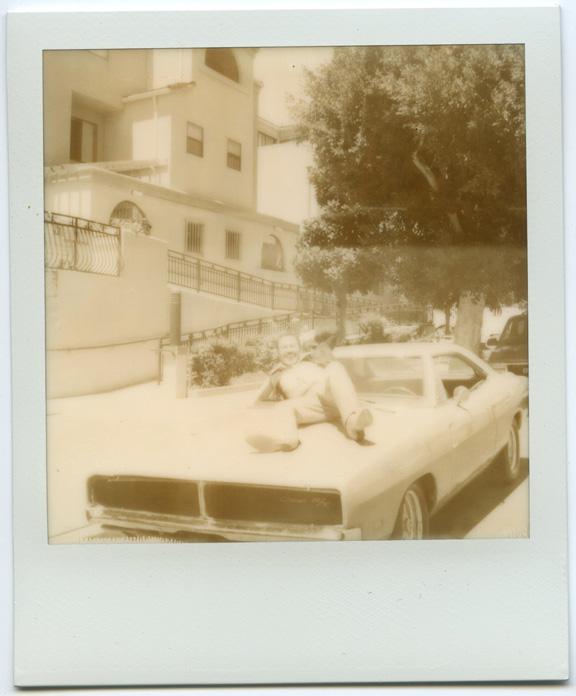 polaroid photos from Tiger Hunter movie