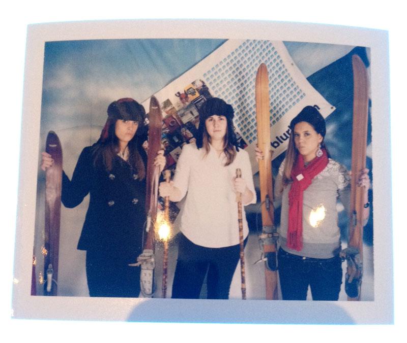Alt Summit Polaroid photobooth