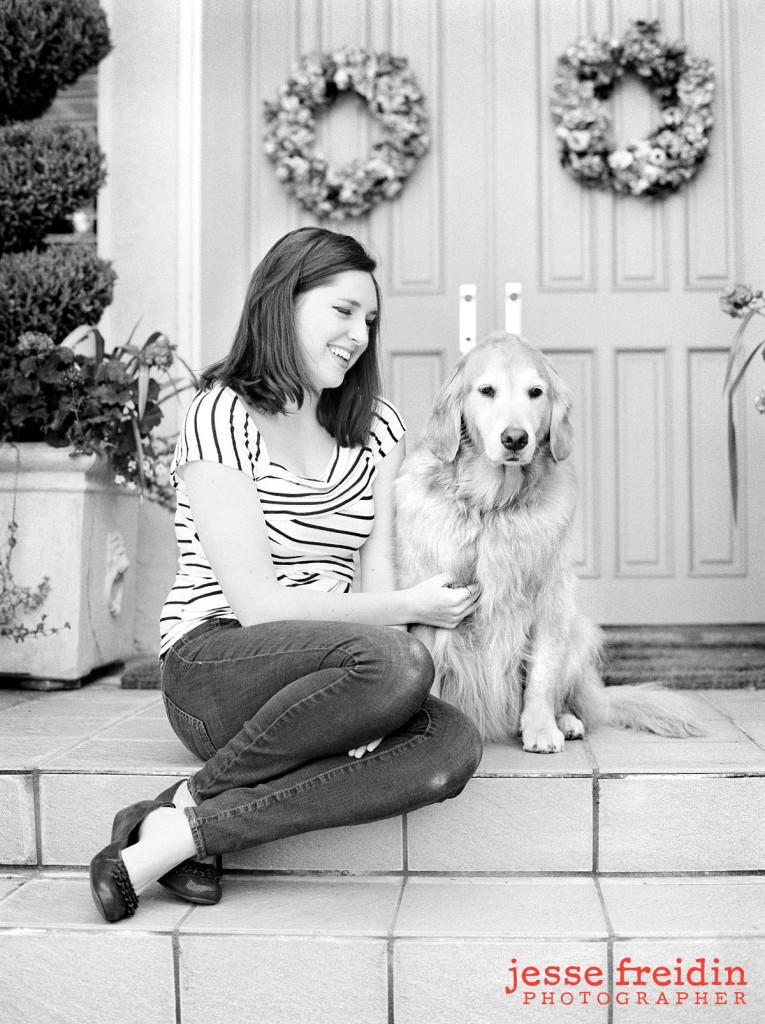 dog photos black and white