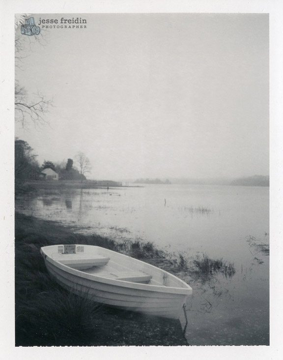 winter polaroid