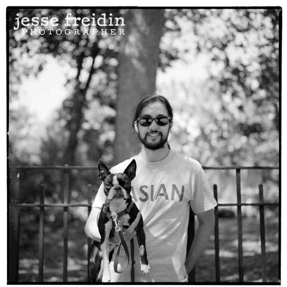 black and white pet photographer