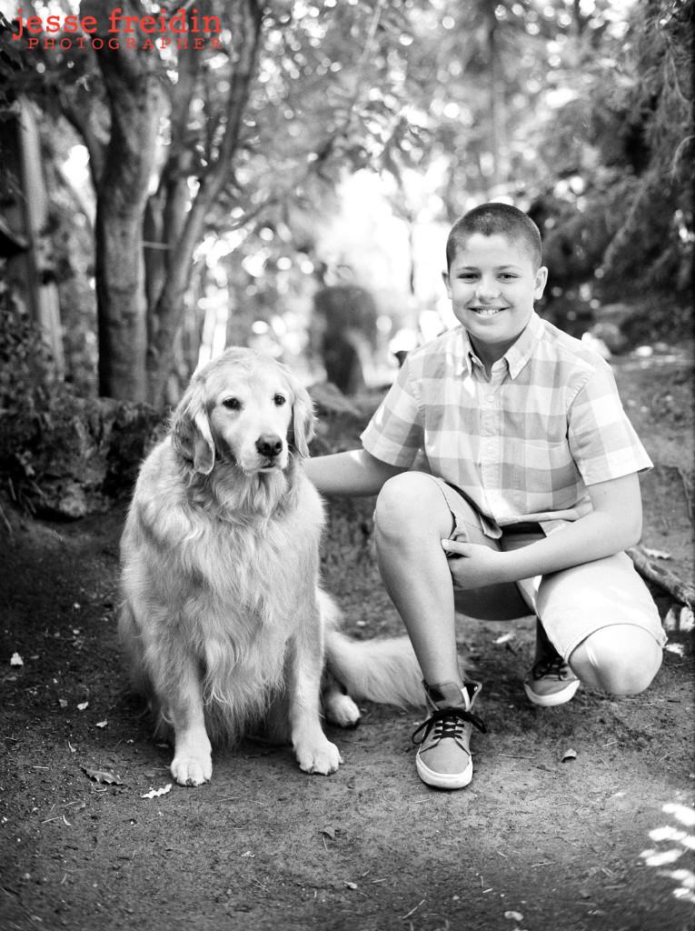 black and white pet photos