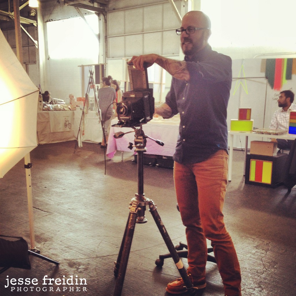 polaroid photo booth photographer Jesse Freidin