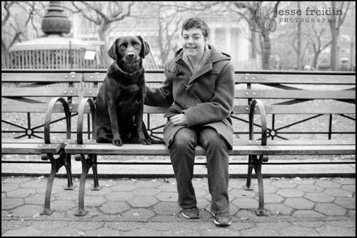 New York dog photographer