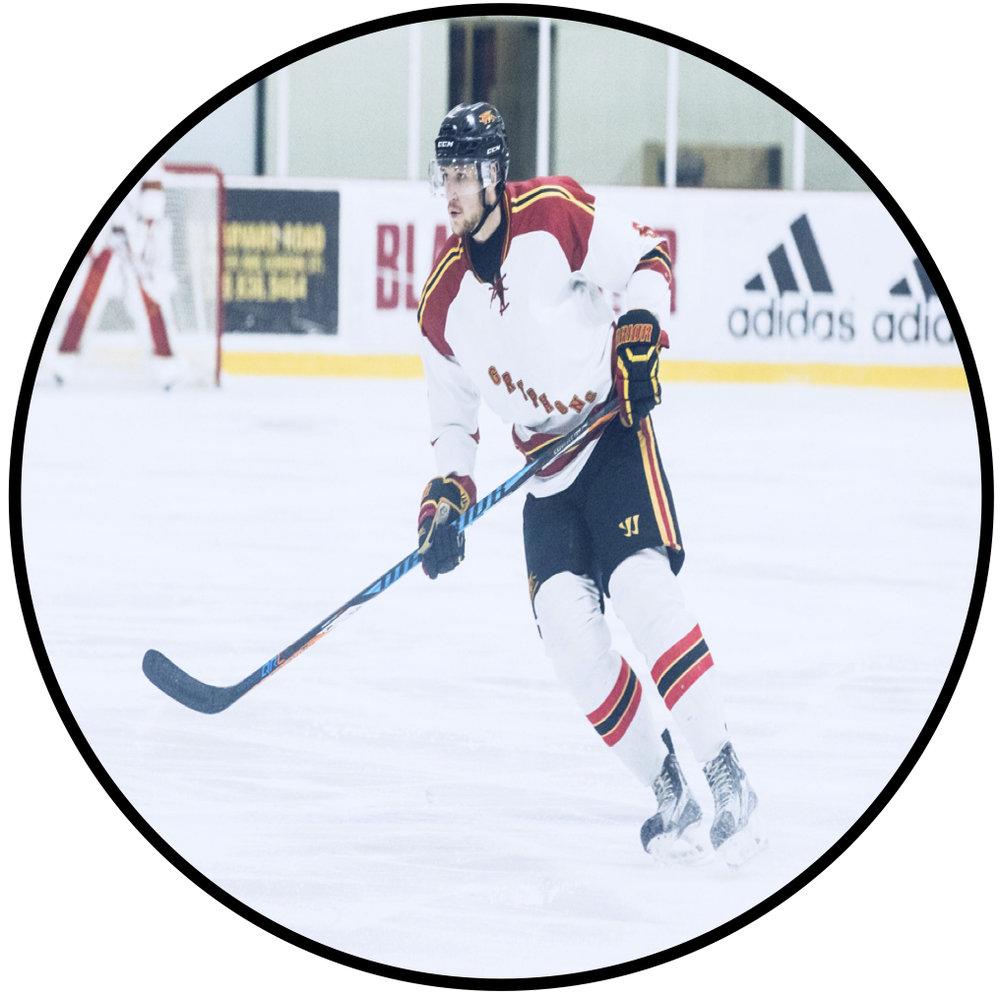 Max McCutcheon, University of Guelph Hockey: -