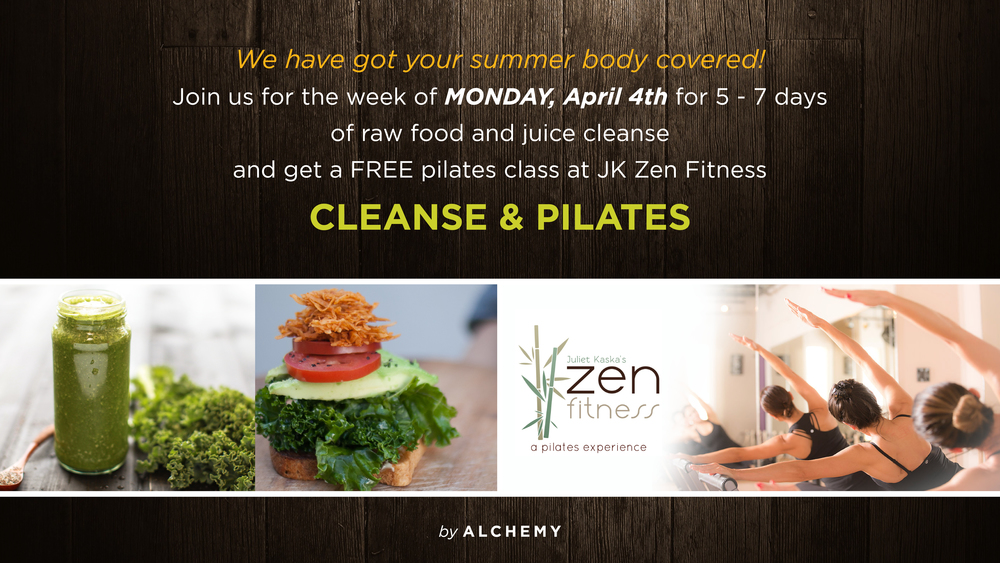 Alchemy Health Food Group Cleanse April 2016