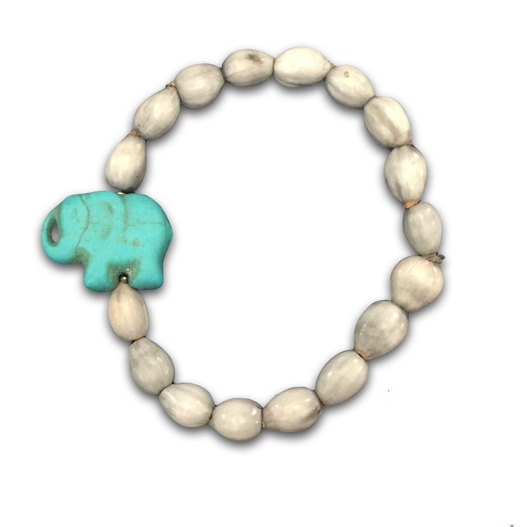 charm elephant luna beaded bracelet products black s warehouse