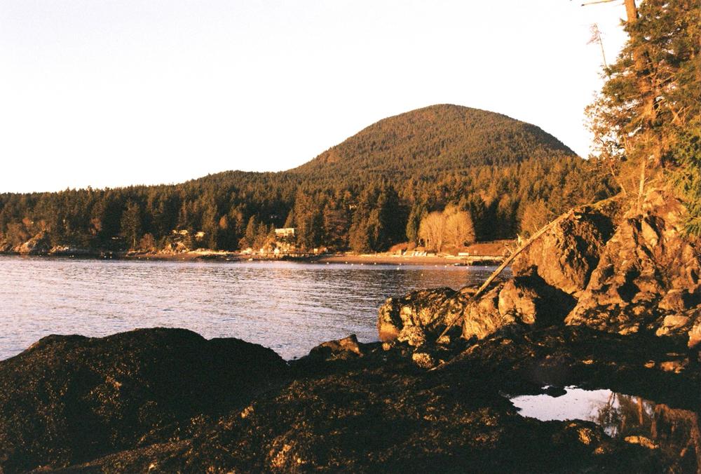 Tunstall Bay & Mount Gardner, Bowen Island